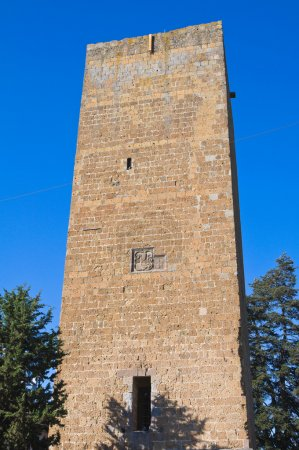 Tower of Lavello. Tuscania. Lazio. Italy.