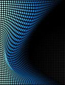 Modré pozadí futuristické abstraktní