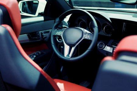 Cabrio Sports Car Interior