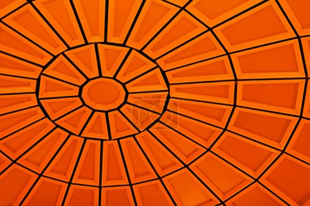 Detail of a Orange Dome