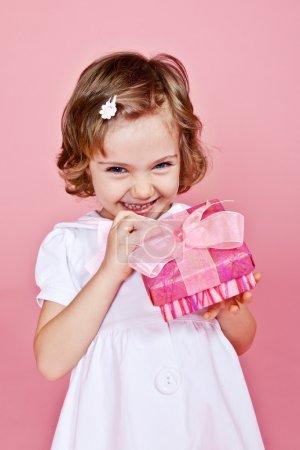 Joyfull little girl