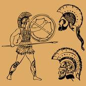 Starověký řecký bojovník