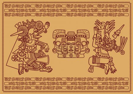 Two supreme deities of Maya