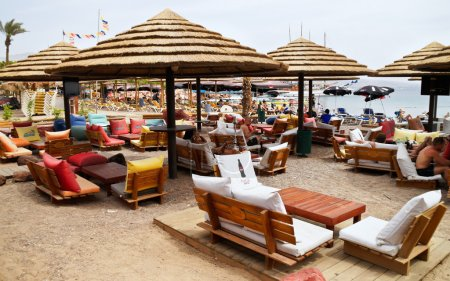 Municipal Beach in Eilat, Israel