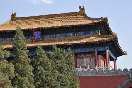 The watchtower of forbidden city