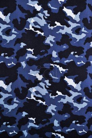 Foto de Tela de camuflaje azul en una orientación vertical - Imagen libre de derechos