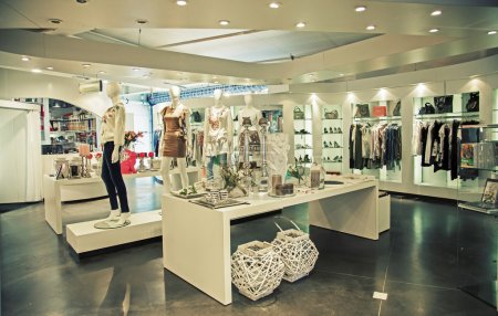 Photo for General view of modern store - Royalty Free Image