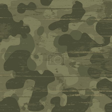 Camouflage military background. Vector illustratio...