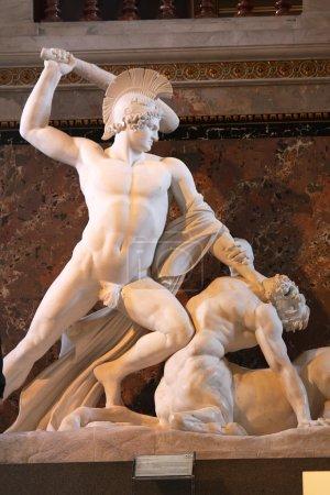 Theseus Fighting the Centaur in Kunsthistorisches ...
