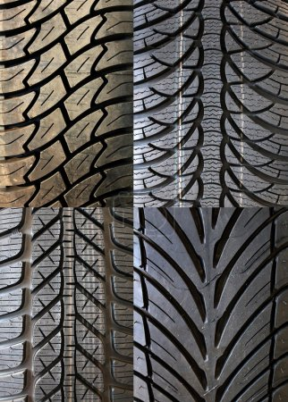 Photo for Car tire - Royalty Free Image