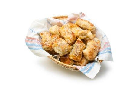 Puff pastry patties