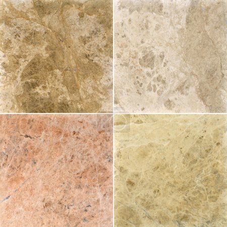 Four different marble texture. (high.res.)