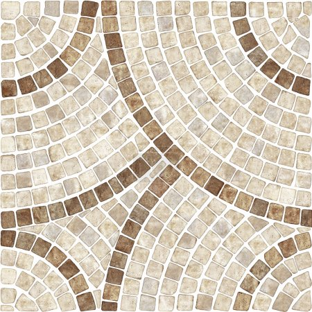 Marble-stone mosaic texture. (High.res.)