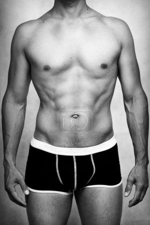 Male sexy underwear model