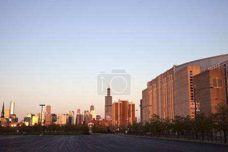 Темнеет в Чикаго