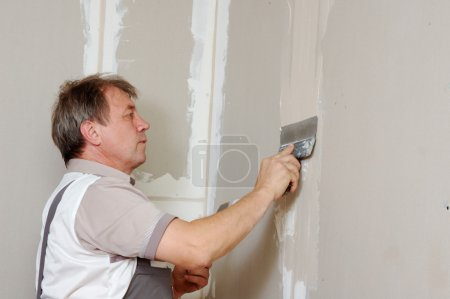 Putty plasterboard