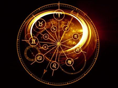 cadran de l'astrologie