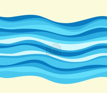 Illustration for Seamless wave patterns - Royalty Free Image