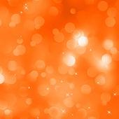 Sfondo di Natale arancione glitterata. EPS 8