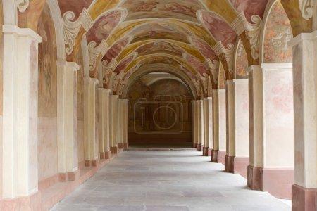 Decorative ornate corridor