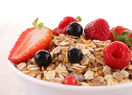 Cereals and fruits