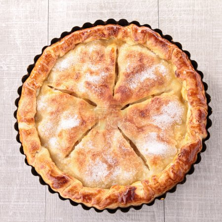 Photo for Gourmet apple pie - Royalty Free Image