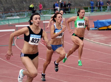 Athletes on the Ukrainian Cup in Athletics