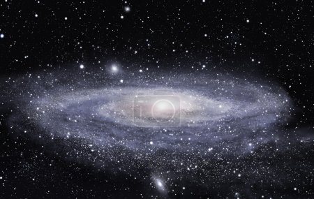 Photo for Detailed picture of the distant spiral galaxy - Royalty Free Image