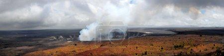 Kilauea Volcano Panorama