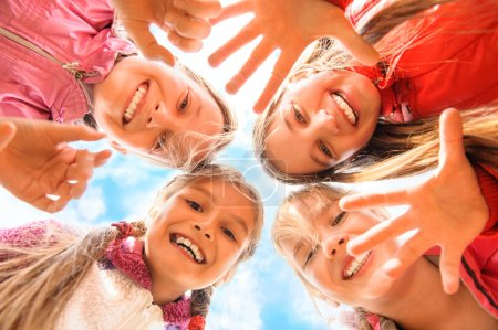 Photo for Happy children having fun together - Royalty Free Image