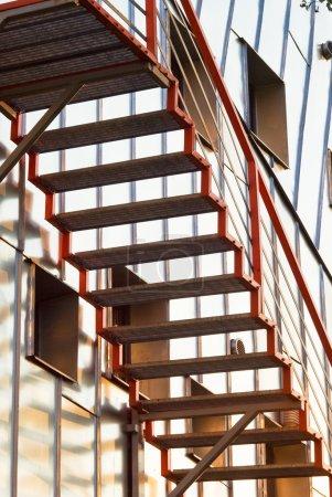 Photo pour Conception d'escaliers - image libre de droit