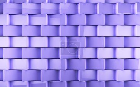 Photo pour Mosaïque cubes fond - image libre de droit