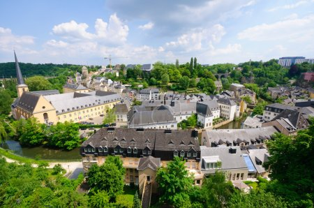 Old town of the City of Luxembourg