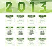 Kalendář 2013. vektorové eps10