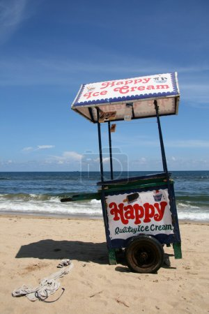 Ice Cream Vendor - Marina Beach, Chennai, India