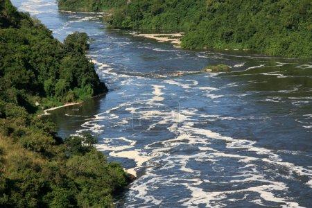 The River Nile, Murchison Falls National Park Safa...