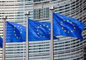 """Постер, картина, фотообои """"европейские флаги"""""""