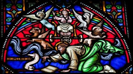 Cherubim and Chariot vision of the Prophet Ezekiel...