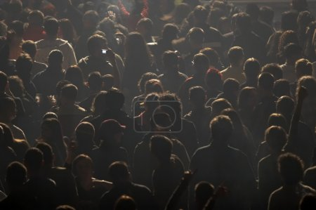 Photo for Crowd of during concert - Royalty Free Image