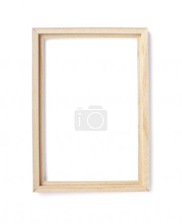 Wooden frame background decoration