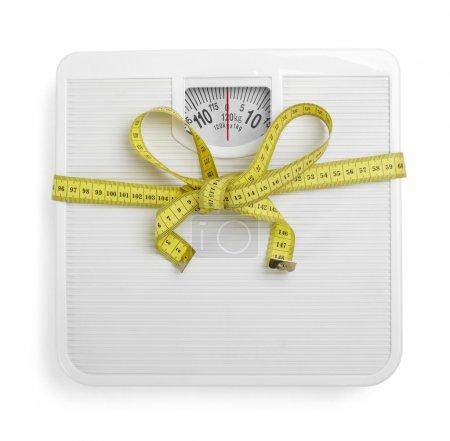 Scale libra measurement tape diet