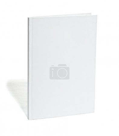 White blank notebook template