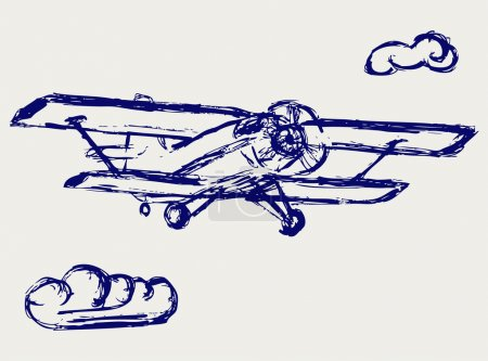 Airplane sketch