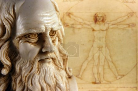 Leonardo da vinci, one of the greatest mind in the...