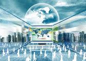 Svět e obchodu vrtual