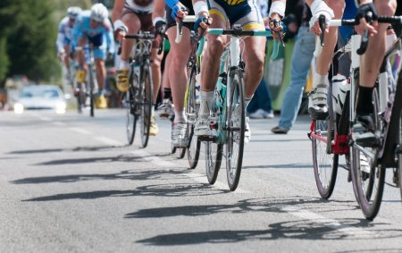 Photo for Group of cyclist at professional race - Royalty Free Image