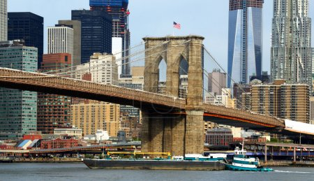 Photo pour Skyline de brooklyn à new york city - image libre de droit