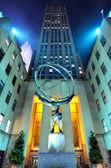 Atlas v Rockefellerově centru