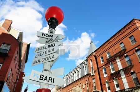 Little Italy in Boston