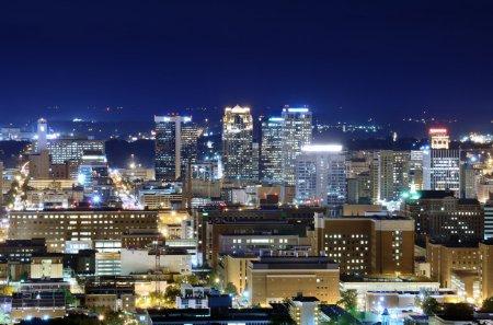 Photo pour Skyline du centre-ville de Birmingham, Alabama, USA . - image libre de droit